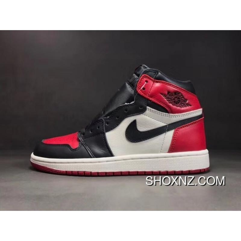 nike air jordan 1 black toe nz