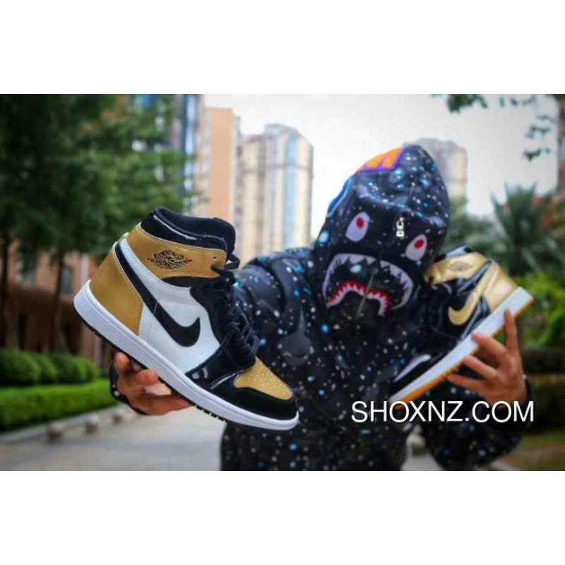 air jordan 1 black and gold nz