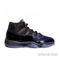 5006f85efc06f9 Air Jordan 11 Prom Night Black 378037-005 Best