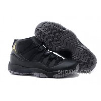 Charcoal Black And Gold Jordan 11 Men Basketball Shoes Free Shipping Online FbHZ7