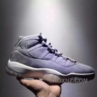 Air Jordan 11 Space Jam Grey Suede Limited Edition Discount TWnQNiN