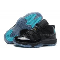 Air Jordan 11 (XI) Retro Gamma Blue Black/Gamma Blue-Varsity Maize