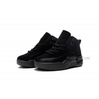 Buy Drake's Jordan 12 OVO Black For Kids