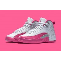 "Air Jordan 12 GS ""Valentine's Day Dynamic Pink"""