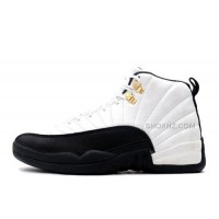 "Air Jordan 12 Retro ""Taxi"" White/Black-Taxi Cheap For Sale Online"