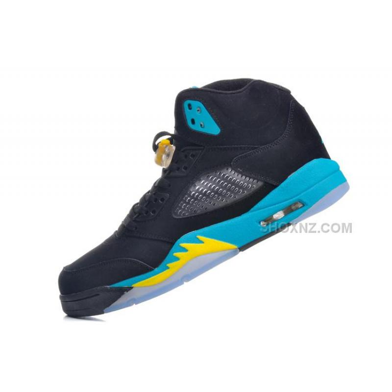 Air Jordan 5 Black Gamma Blue Varsity Maize