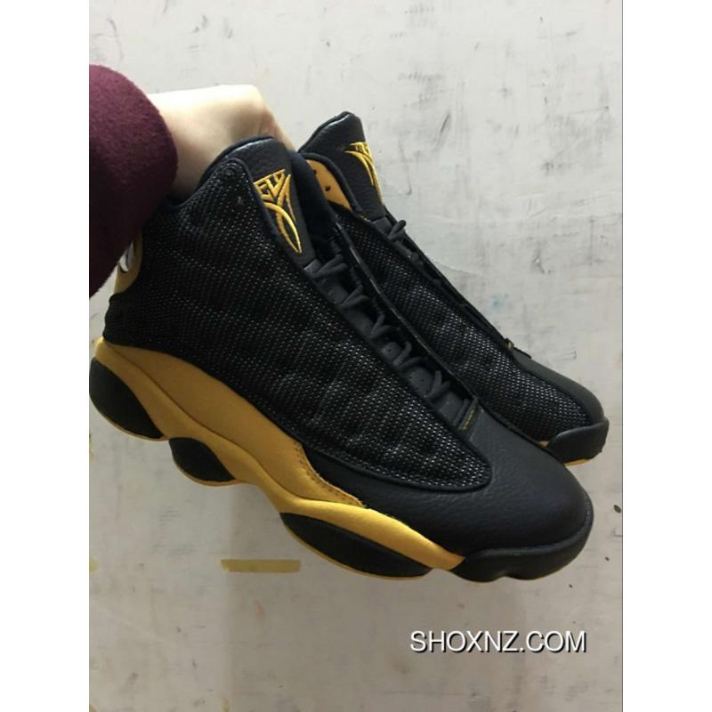 meet 55189 6e837 Air Jordan 13 X MELO Carmelo Anthony BLACK YELLOW SKU:364252 CARBON Latest