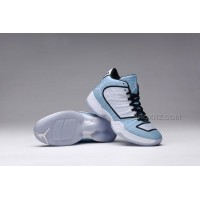 "Nike Air Jordan 29 XX9""Legend Blue""Mens Shoes White/Legend Blue-White-Black Sneakers 695515-117 Online"
