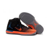 2017 Mens Air Jordan XXX1 Black Orange Blue Basketball Shoes Online CnxTiP