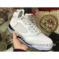 promo code 77ded 7009a Air Jordan 5 White Cement Shoes 136027-104 Yards Best