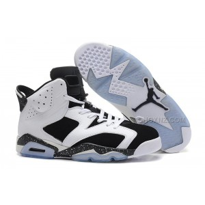 "Womens Air Jordan 6 ""Oreo"" White-Black"