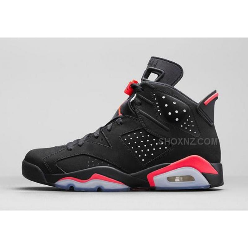 nike air jordan 6 black infrared nz