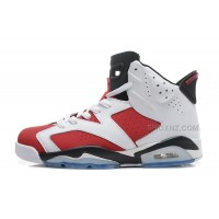 "Air Jordan 6 (VI) Retro ""Carmine"" White/Carmine-Black Cheap For Sale Online"