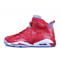 "Air Jordan 6 Retro ""Slam Dunk"" Varsity Red/Varsity Red-White For Sale Online"