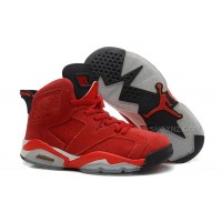 Women's Air Jordan 6 Retro Suede Leather 202