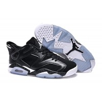 "Girls Air Jordan 6 Low ""Black Oreo"" Shoes For Sale Online"
