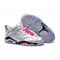 """Girls Air Jordan 6 Low """"Valentines Day"""" Shoes For Sale Online"""