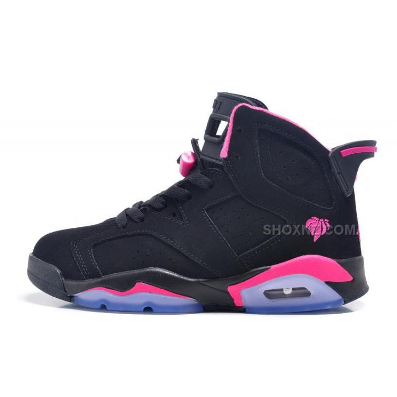 designer fashion 1544e 6996c USD  88.00. Air Jordan 6 Retro GS Black Pink For Sale In Women Size ...