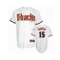 Diamondbacks 15 Haren White Jerseys