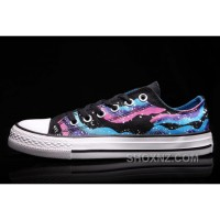 CONVERSE Iridescent Galaxy Multi Colored Women Chuck Taylor All Star Shoes M7c6S