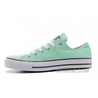 Chuck Taylor Fresh Colors Peppermint All Star Minty Fresh Hue CONVERSE Beach Glass Summer Ice Cream Sneakers ZQb8m