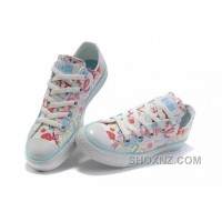 White CONVERSE Chuck Taylor All Star True Love Graffiti Canvas Shoes SzhkX