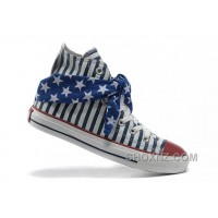 All Star CONVERSE American Flag Blue Scarf Cravat Stripes B3fQj