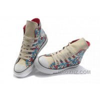 CONVERSE High Tops All Star Leopard Camouflage Canvas Shoes Women KNCJD