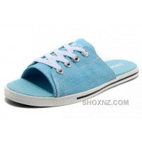 Blue All Star Light CONVERSE Slippers Summer Collection By Avril Lavigne Canvas YcJnS