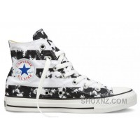CONVERSE American Flag Black And White Chuck Taylor All Star Canvas Shoes FYcpB