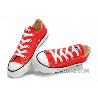 Red CONVERSE All Star Chuck Taylor Canvas Shoes WGSGM