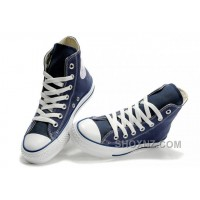 Blue CONVERSE All Star Chuck Taylor Canvas Shoes WNkDS