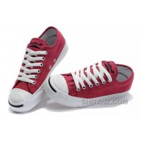 Red CONVERSE Jack Purcell Overseas Canvas Shoes 6p3rC