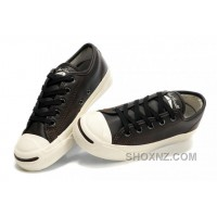 Brown Leather CONVERSE Jack Purcell LP Slip Top Sneaker BZpai