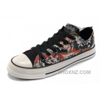 Black CONVERSE Batman DC Comics Printed Canvas Shoes A5pXx