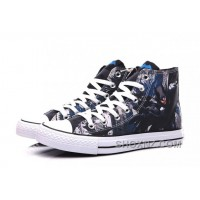 CONVERSE DC Comics Batman Chuck Taylor High Tops Sneakers JaKsz