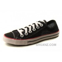 Black All Star CONVERSE Summer Collection Chuckout Mesh Style Tops Casual Shoes KGADj
