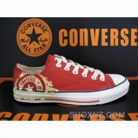 Converse All Star 08 Century Red Shoes Z3TZj