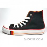 Converse All Star Chuck Taylor Canvas High Tops Red Shoes EPKd5
