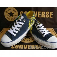 Converse All Star Classic High Canvas Yellow Shoes Hwh8t