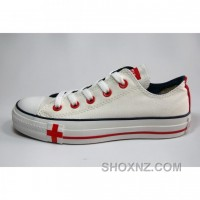 Converse All Star Classic Low Canvas Red Shoes MiR6Y