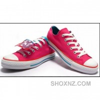 Converse All Star Ox Crystal Bottom White Pink Shoes IT2Xb