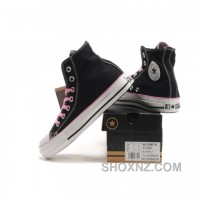 Converse All Star Ox High Tops Black Shoes IRKFY