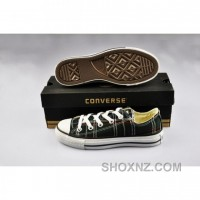 Converse All Star Plaid Green Canvas Low Tops Shoes SPjZ8