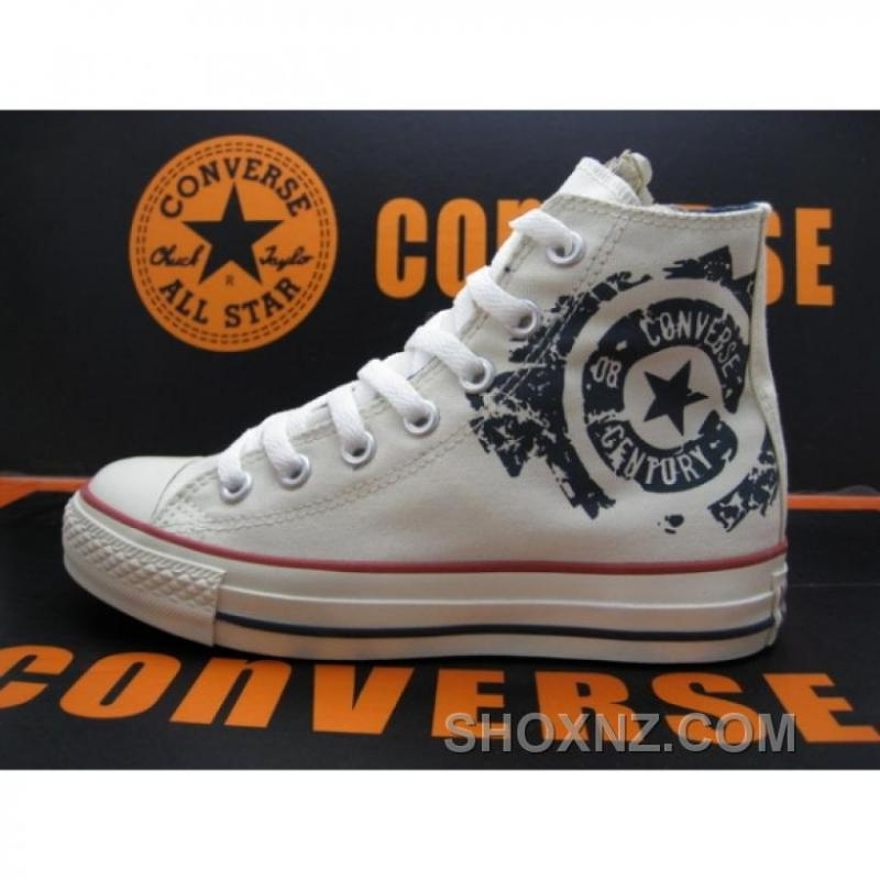 Converse All Star Revolution White Golden Shoes IxNSK