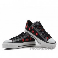 Converse All Star Specialty Ox Low Tops Black Shoes 8cf6m