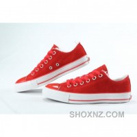 Converse All Star Specialty Ox Low Tops Red Shoes 2RGrK