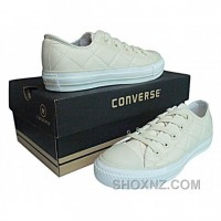 Converse Printed All Star Canvas Low Top White Pink Shoes TfND4