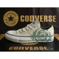 Converse Running White Gray Blue Shoes Skj3T