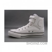 Converse Jack Purcell Leather 3 Strap White Shoes R8D3Q